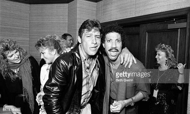 Lionel Richie poses for a portrait at a Jobete music party to honor Otis Blackwell on October 12 1986 in Nashville Tennessee