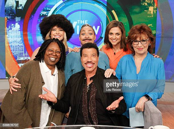 THE VIEW Lionel Richie visits THE VIEW 6/8/16 airing on the Walt Disney Television via Getty Images Television Network BEHAR