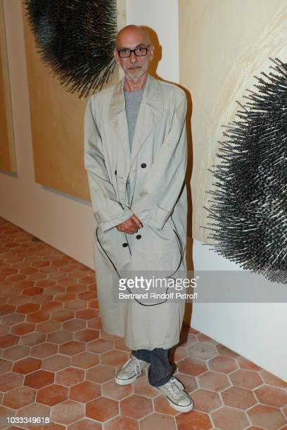 Lionel Vermeil attends the Kering Heritage Days Opening Night at 40 Rue de Sevres on September 14 2018 in Paris France
