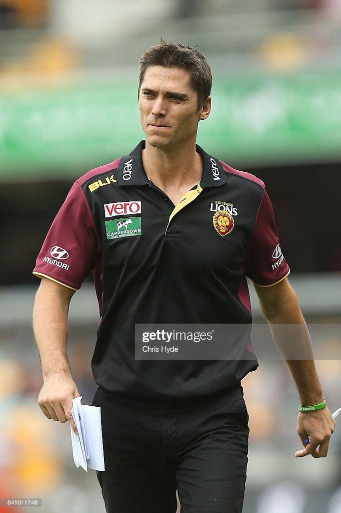 AFL Rd 13 - Brisbane v West Coast