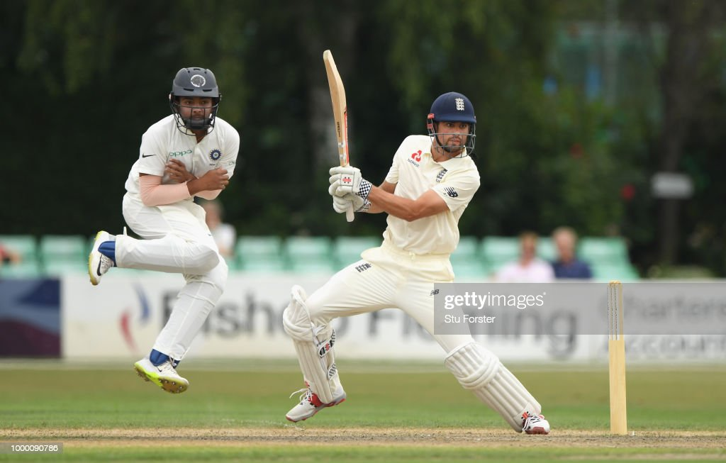 England Lions v India A - Day One
