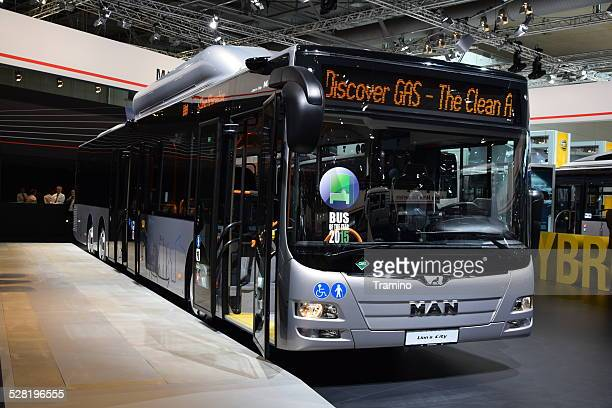 MAN Lion's City GL CNG bus on the motor show