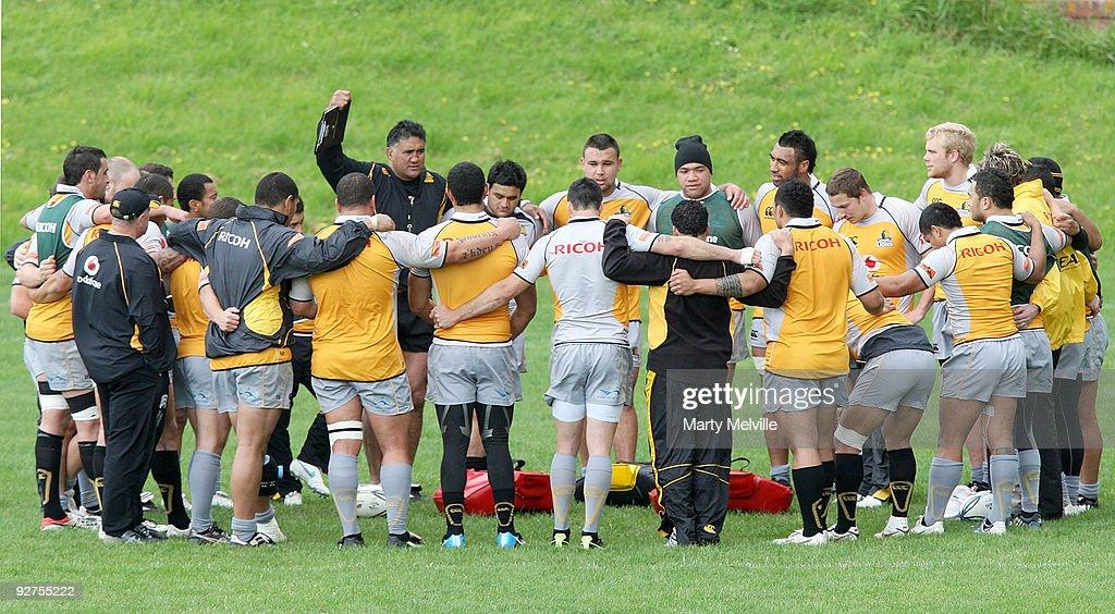 Wellington Training Session : ニュース写真