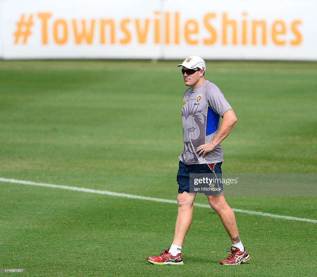 Brisbane Lions Training Session