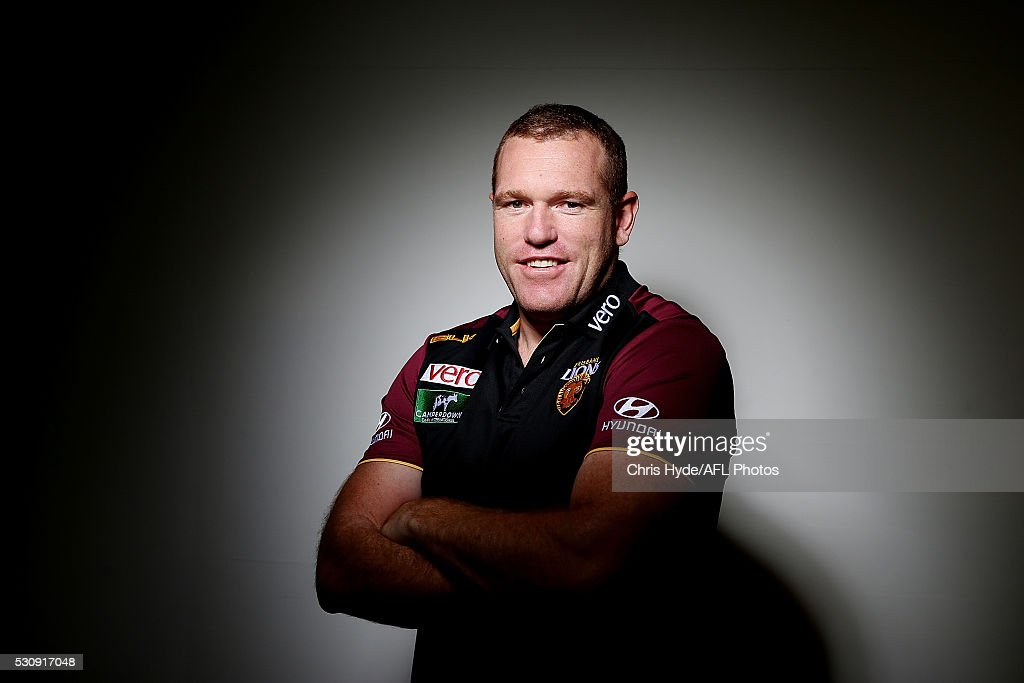 Brisbane Lions Portrait Shoot