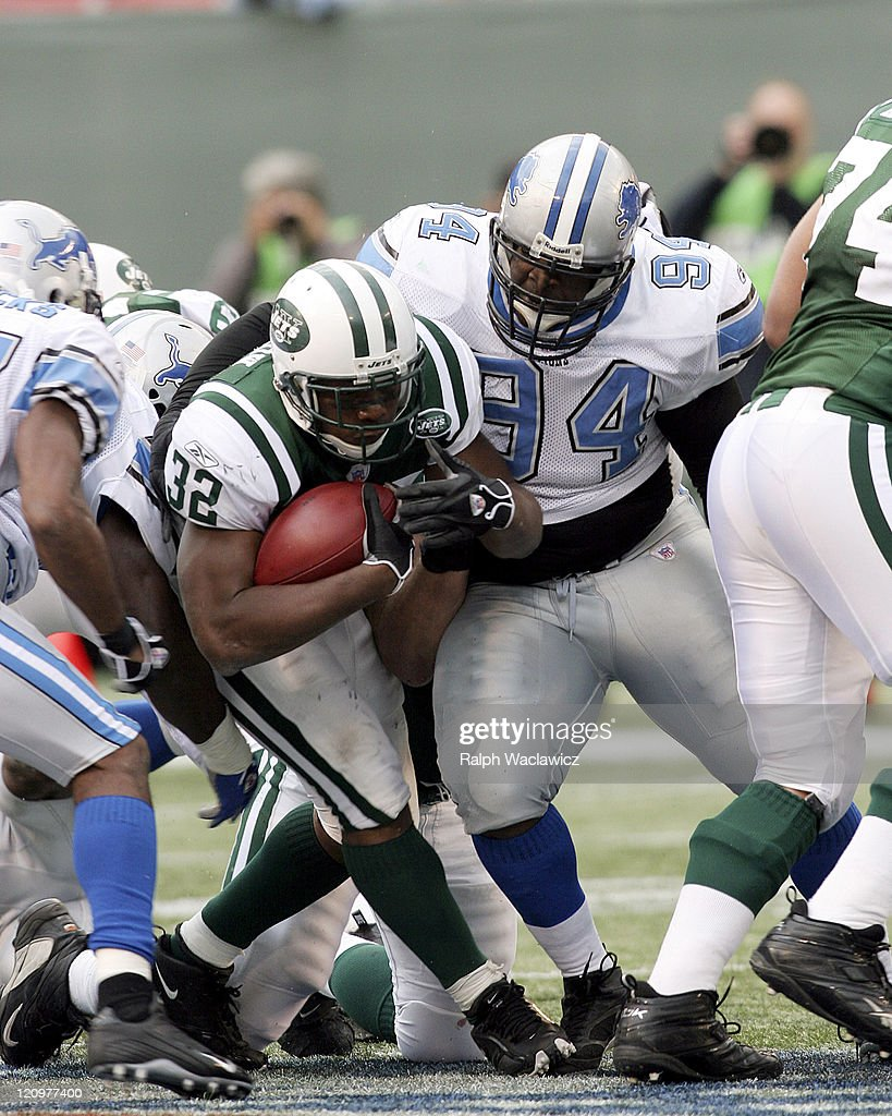 Detroit Lions vs New York Jets - October 22, 2006