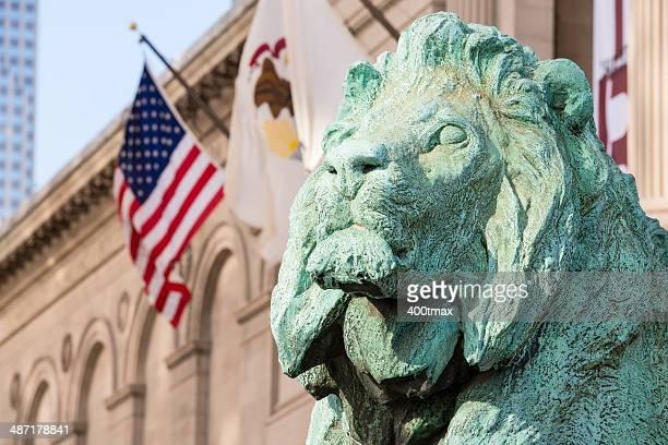 lions of chicago - chicago worlds fair stockfoto's en -beelden