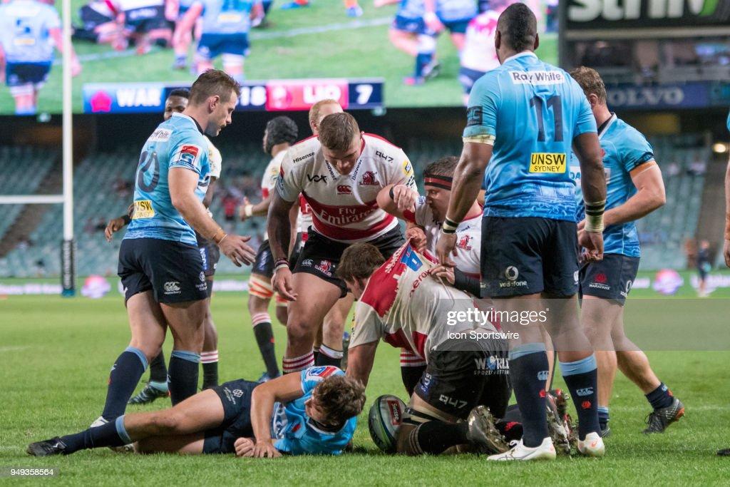 RUGBY: APR 20 Super Rugby - Waratahs v Lions : News Photo