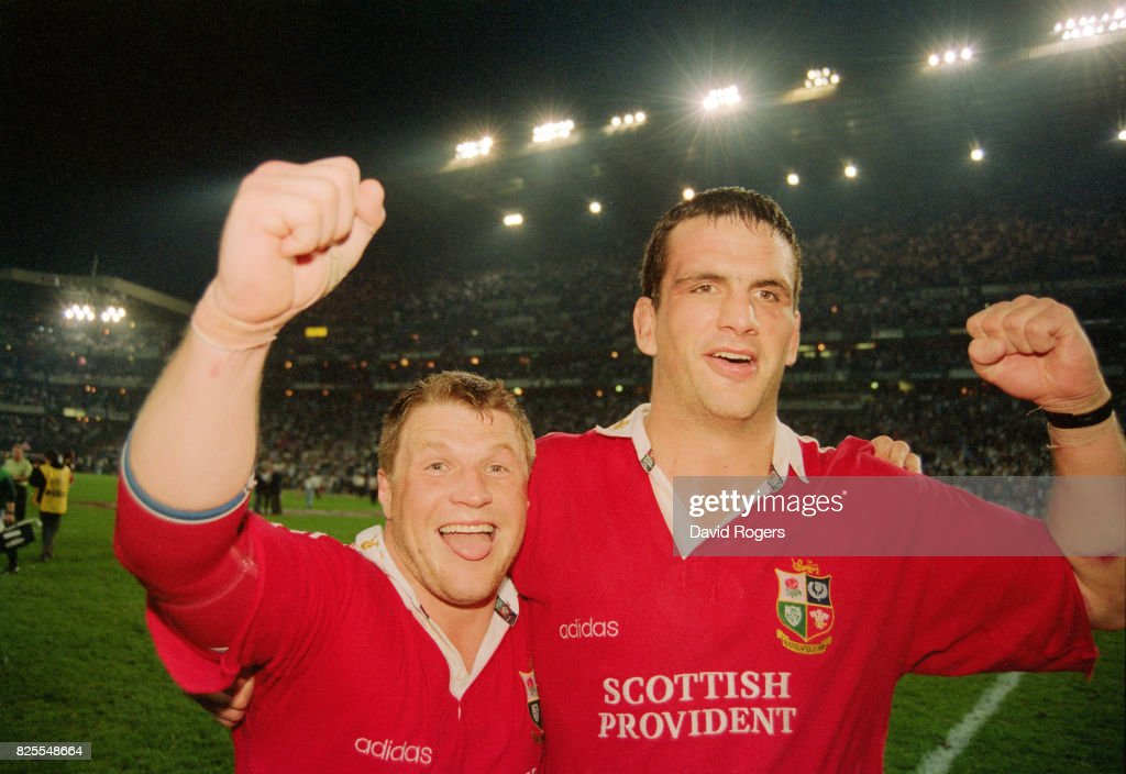1997 South Africa v British and Irish Lions 2ND Test Match Durban : News Photo