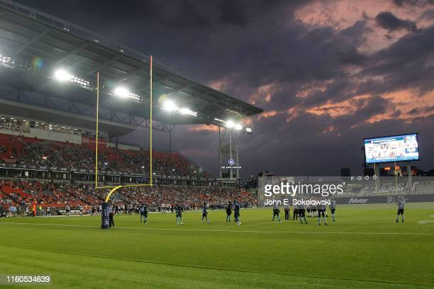 Lions vs Toronto Argonauts at BMO Field on July 6 2019 in Toronto Canada BC defeated Toronto 1817