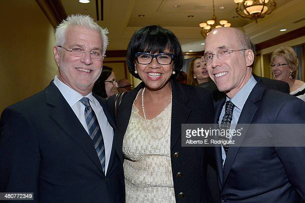 Lionsgate Motion Picture Group CoChairman Rob Friedman Academy of Motion Picture Arts and Sciences President Cheryl Boone Isaacs and DreamWorks...