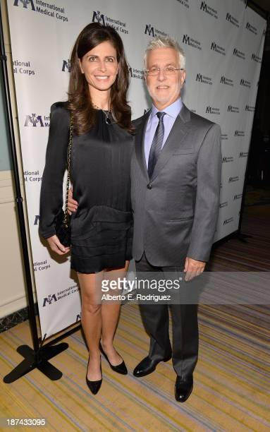Lionsgate Motion Picture Group CoChairman Rob Friedman and wife Shari Friedman attend International Medical Corps Annual Awards Celebration at Regent...