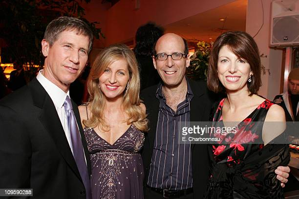 Lionsgate's Jon Feltheimer and wife Laurie Showtime's Matt Blank and Susan McGuirk