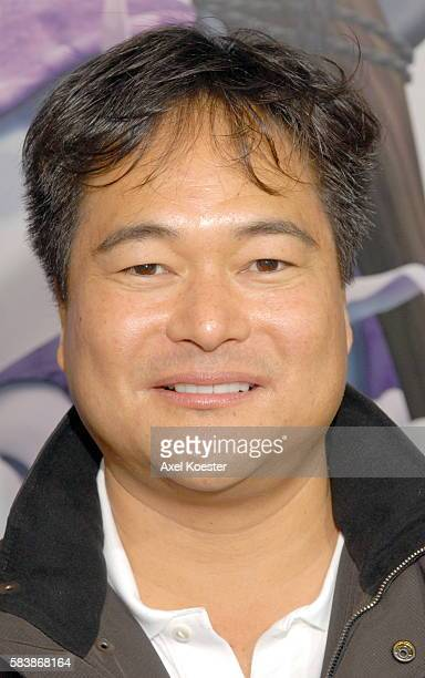 Lionsgate's Ken Katsumoto arrives at the Los Angeles premiere of the movie 'Happily N'Ever After' at Mann's Festival Theater in Westwood