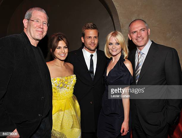 Lionsgate's Michael Paseornek, Eva Mendes, Gabriel Macht, Jaime King and Lionsgate COO Joe Drake attend the after party of the Los Angeles premiere...