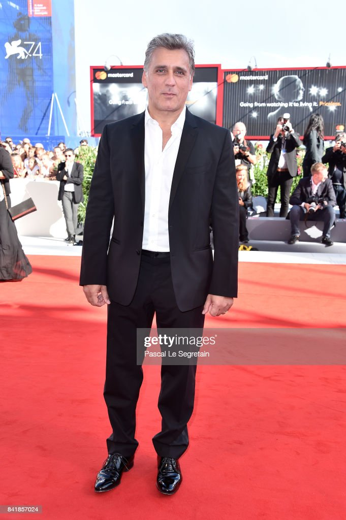 Lior Ashkenazi walks the red carpet ahead of the 'Foxtrot' screening during the 74th Venice Film Festival at Sala Grande on September 2, 2017 in Venice, Italy.