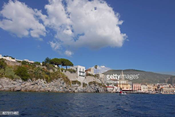 Lipari - Panoramic view of Marina Corta