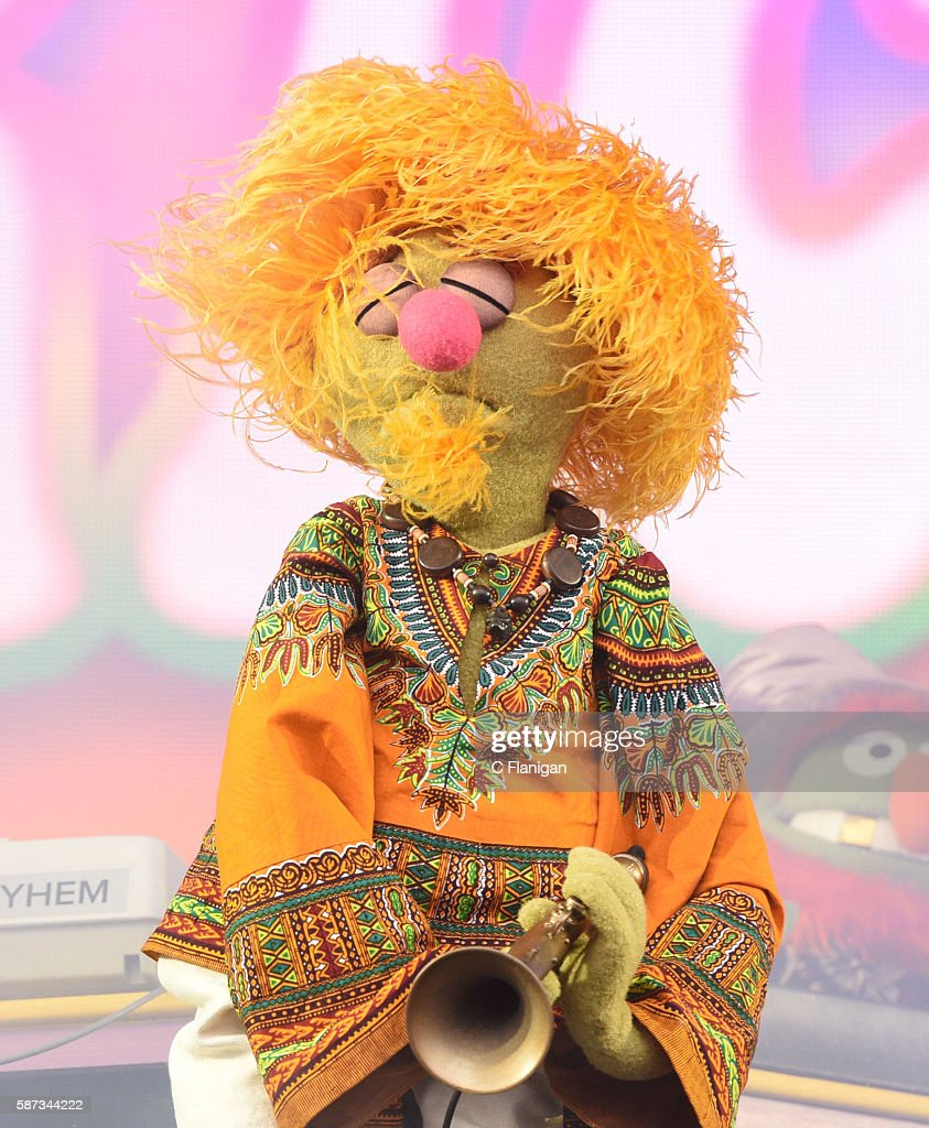Lips Of Muppet Band Dr Teeth The Electric Mayhem Performs During