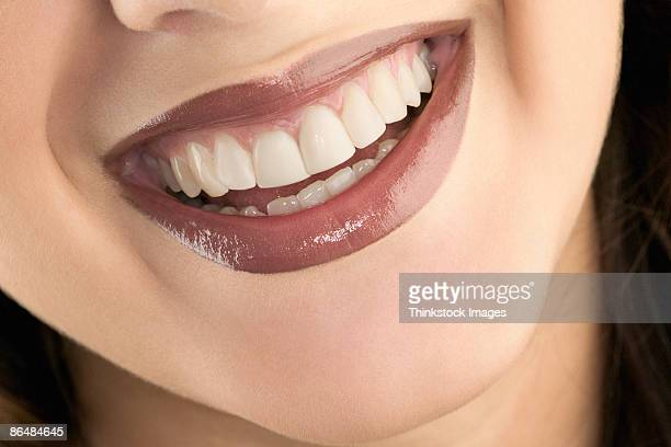 lips of woman - big lips stock photos and pictures