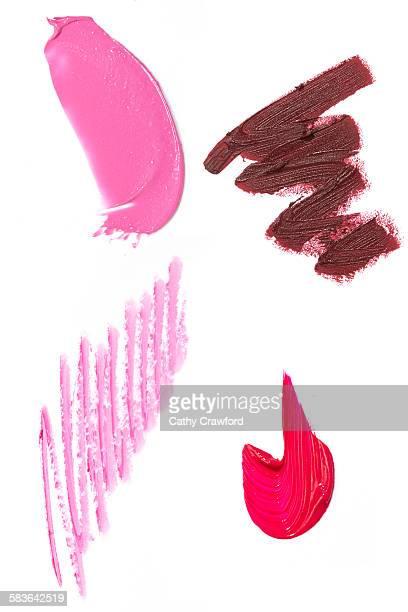 Lipstick smears swipes bullets