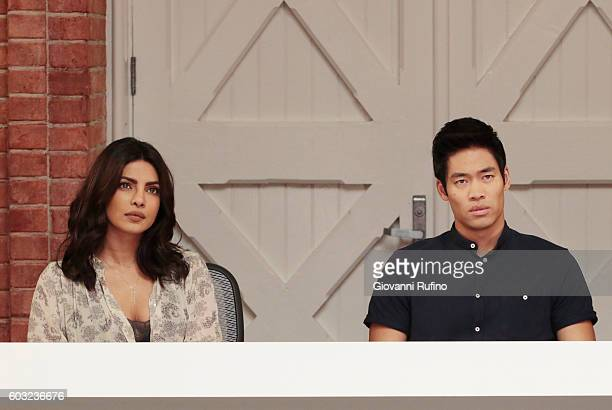 QUANTICO 'Lipstick' The new CIA recruits begin running countersurveillance exercises at The Farm while Alex and Ryan navigate their new relationship...