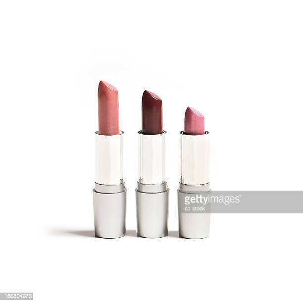 lipsticks - pink tube photos et images de collection