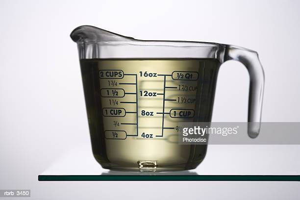 Liquid in a measuring jug