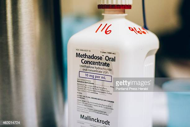 Liquid Methadose at the CAP Quality Care clinic which offers methadone treatment to patients as apart of their substance recovery process in...