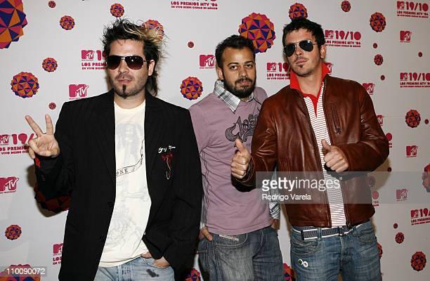 Liquids during MTV Video Music Awards Latin America 2006 - Red Carpet at Palacio de los Deportes in Mexico City, Mexico.