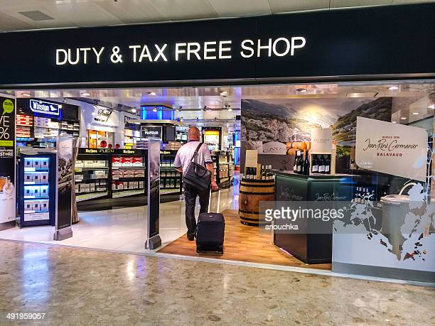 Liquor and tabac Duty Free Store in  Geneva Airport