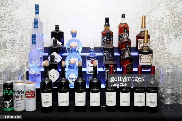 Liquor is seen as Fashion Nova Presents Party With Cardi at Hollywood Palladium on May 8 2019 in Los Angeles California