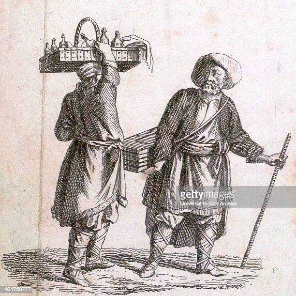 Liquor Seller 18th Century Liszt Gourmet Archive Alcohol Alcoholic Brandy Rum Jamaica Spirits Spirits Of Wine Gin