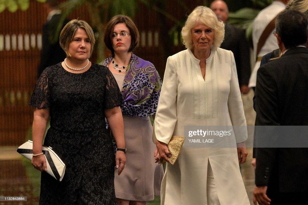 CUBA-BRITAIN-ROYALS-PRINCE CHARLES : News Photo