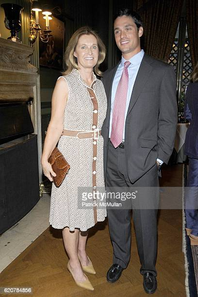 Lis Waterman and Justin Waterman attend The Parents of GENEVIEVE BARTLETT BAHRENBURG and PHILIP EMILE GAUCHER JR Host The Engagement of Their...