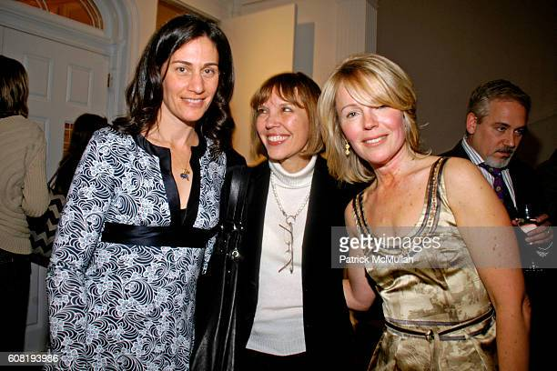 Lisa Abelow Hedley Judith Miller and Dani Shapiro attend Cocktail Party in Honor of DANI SHAPIRO Celebrating Her New Novel BLACK WHITE Hosted by...