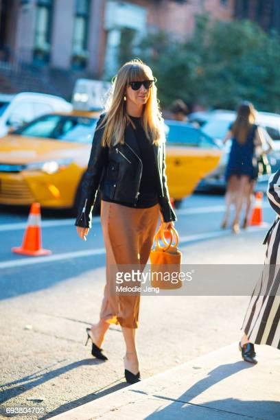 Lisa Aiken outside the Stella McCartney Spring 18 presentation on June 8 2017 in New York City