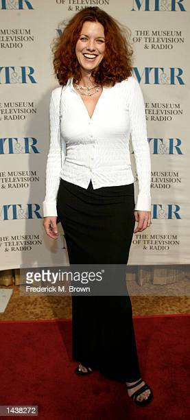 Lisa Akey attends the Museum of Television Radio Gala on September 29 2002 in Beverly Hills California Actor Ted Danson and producer Dick Wolf were...