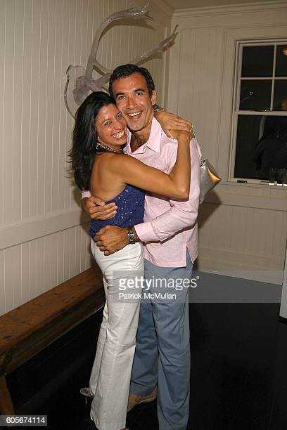 Lisa Anastos and Mark Alhadeff attend 10 CANE RUM and The Trinidadian Ministry of the Bikini Celebrate THE BIKINI BOOK by Kelly Killoren Bensimon at...