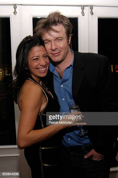 Lisa Anastos and Will Stuart attend Whitney Biennial Artists Party at Trata Estiatoria on March 8 2008 in New York City