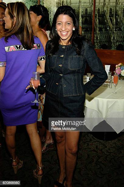 Lisa Anastos attends Rodial Skincare's Maria Hatzistefanis hosts a luncheon to benefit Five Alive at Saint Ambroeus Southampton with Kate Roberts...