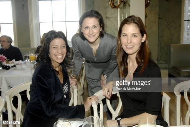 Lisa Anastos Emilie Rubinfeld and Melissa Skoog attend AKRIS Hosts NEW YORK PRESBYTERIAN HOSPITAL COMMITTEE Brunch at BERGDORF GOODMAN at Bergdorf...