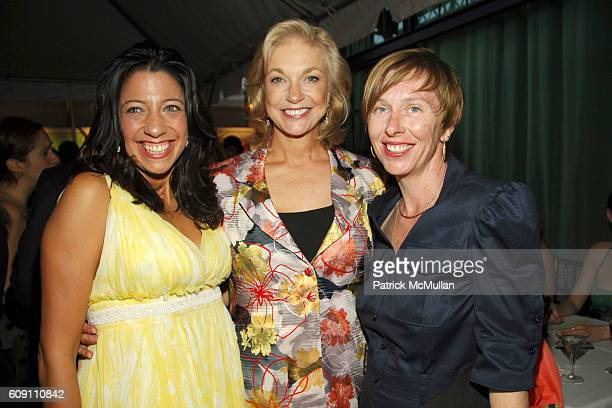 Lisa Anastos, Joanne Leonhardt Cassullo and Christine Nichols attend CREATIVE TIME CELEBRATES ITS 33RD BIRTHDAY at Bowery Hotel on May 10, 2007 in...
