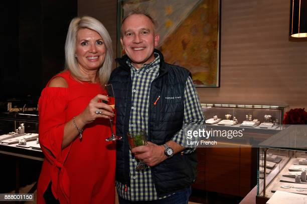 Lisa and Adam Duray attend a JDRF event at David Yurman Tysons on December 7 2017 in Mclean Virginia