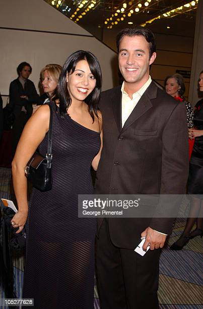 Lisa and Ben Mulroney during 2003 18th Annual Gemini Awards Pre Party at Metro Toronto Convention Centre in Toronto Ontario Canada