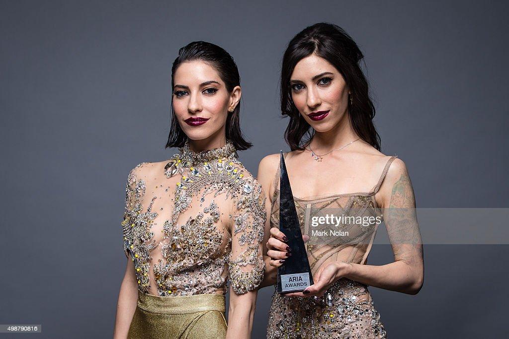 29th Annual ARIA Awards 2015 - Winner & Presenters Portraits : News Photo