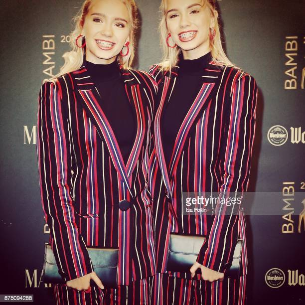 Lisa and Lena arrive at the Bambi Awards 2017 at Stage Theater on November 16 2017 in Berlin Germany