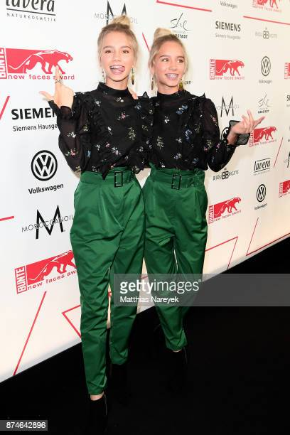 Lisa and Lena attend the New Faces Award Style 2017 at The Grand on November 15 2017 in Berlin Germany