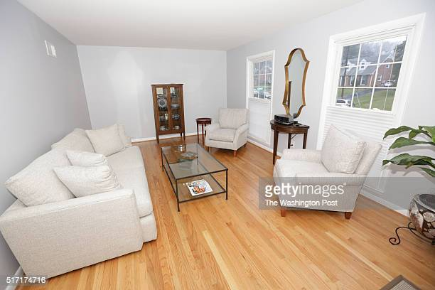 Lisa and Steve Noel have their room photographed for a redesign on Saturday January 9 2016 in Silver Spring MD