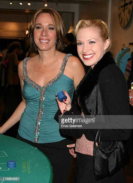 Lisa Angel and Adrienne Frantz during Lisa Angel and LTH Studio 'Take a Gamble on Fashion' Benefiting Madison's Foundation at Mosaic Hotel in Studio...