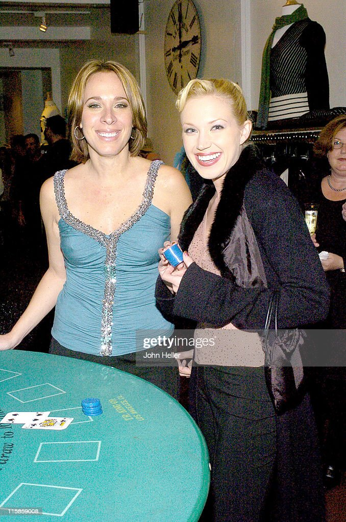 Lisa Angel and Adrienne Frantz during Lisa Angel and LTH Studio 'Take a Gamble on Fashion' Benefiting Madison's Foundation at Lisa Angel Clothing Store in Los Angeles, California, United States.
